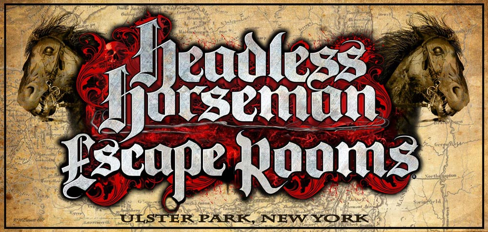 Headless Horseman Escape Rooms Logo