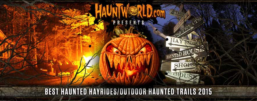 A haunted hayride without a rival.
