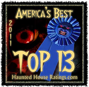 #1 in Haunted House Ratings America's Top 13