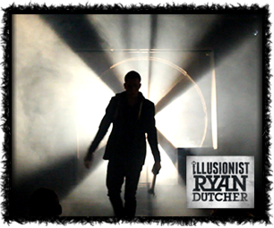 Illusionist Ryan Dutcher