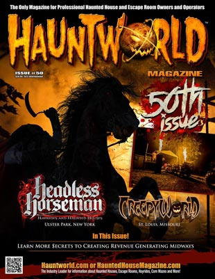 Hauntworld 50th Issue - Link to Headless Horseman article