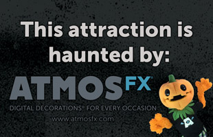 This attraction is haunted by AtmosFX