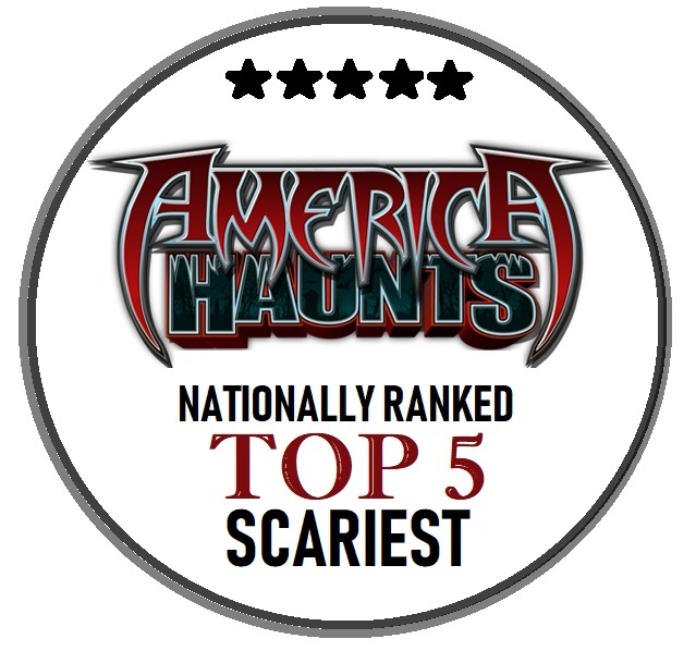 Nationally Ranked Top Five Scariest
